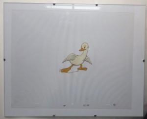 Animal Farm animation cel - duckling
