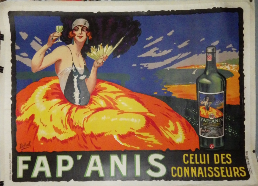 Delval Fap' Anis poster
