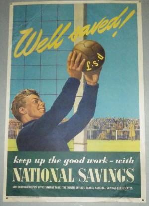 National Savings poster