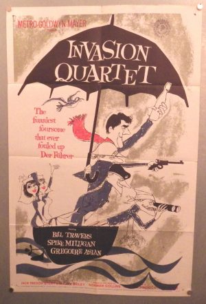Ronald Searle film poster