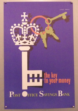Stan Krol Post Office Savings Bank poster