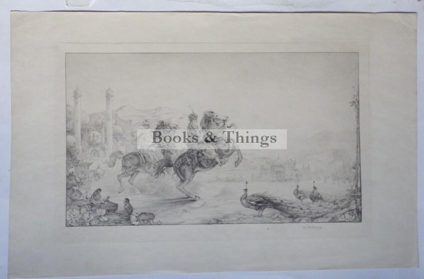 Edward Julius Detmold etching