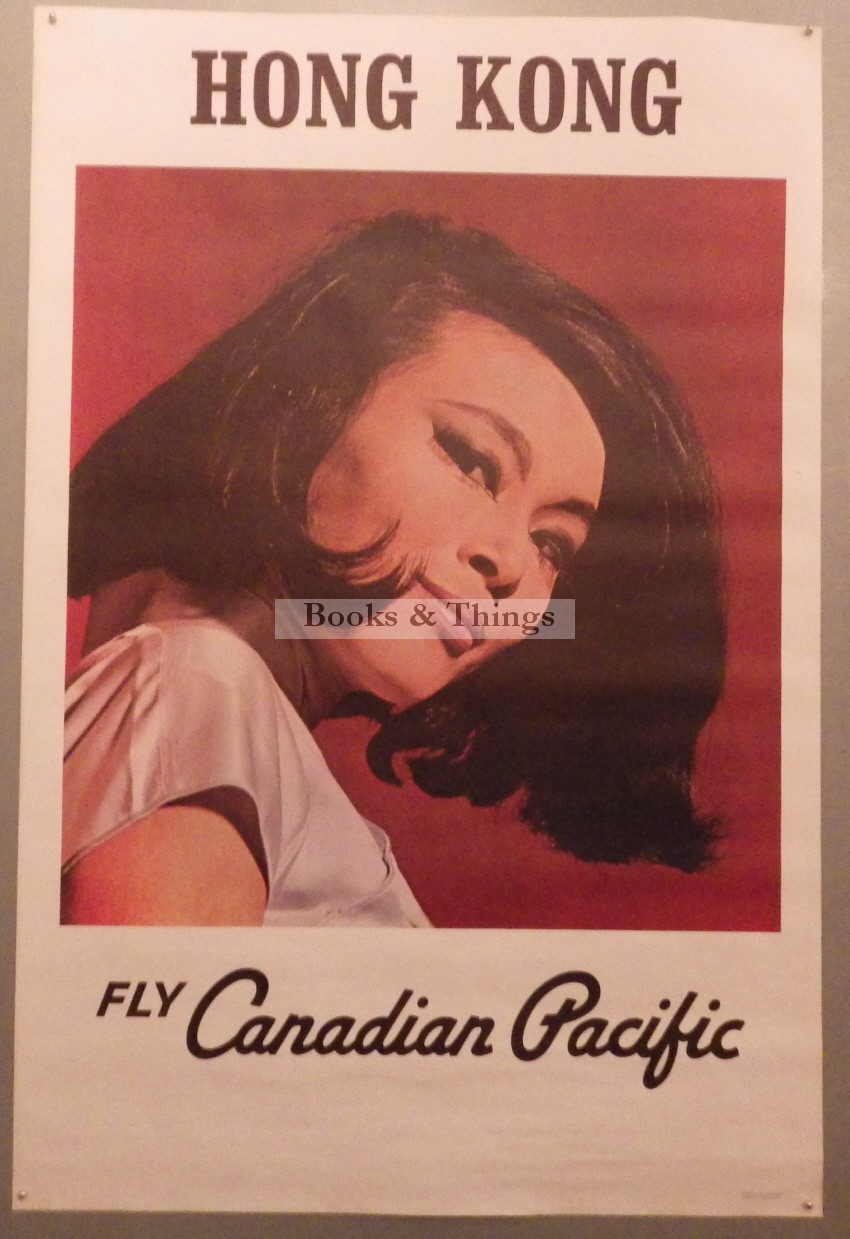Fly Canadian Pacific Hong Kong poster
