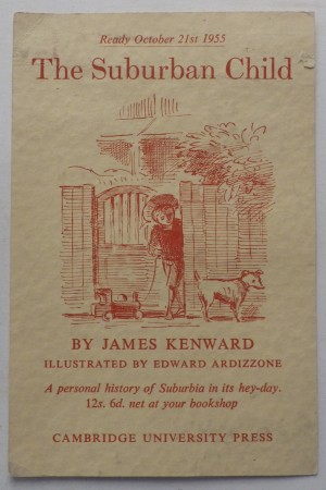 Edward Ardizzone announcement
