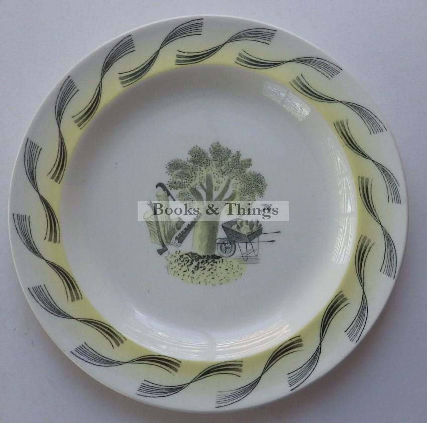 Eric Ravilious Garden plate
