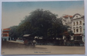 Raffles Square Singapore postcard