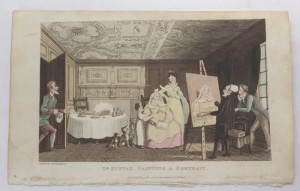 Thomas Rowlandson Dr Syntax lithograph
