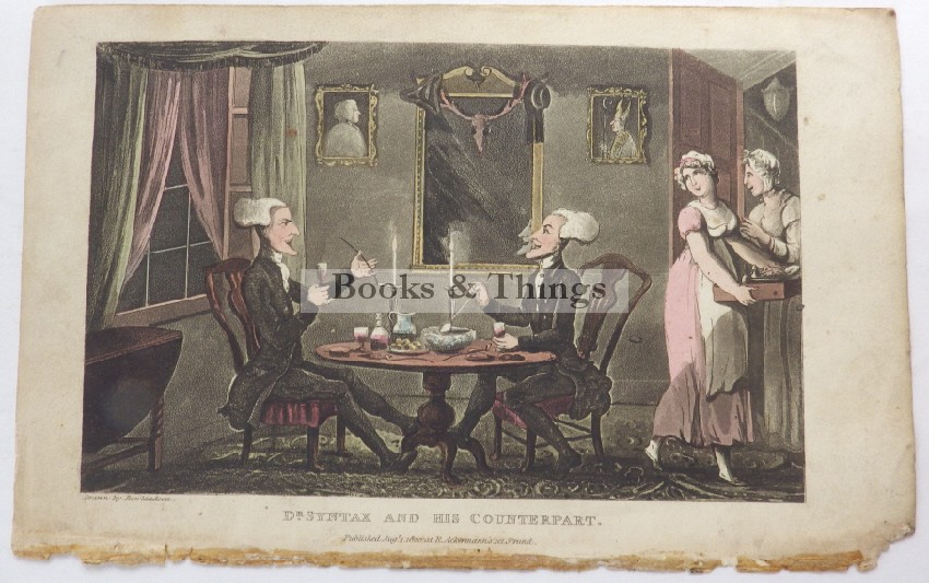 Thomas Rowlandson Dr Syntax lithograph15