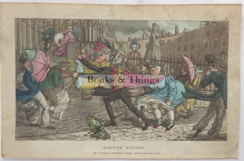 Thomas Rowlandson Dr Syntax lithograph2