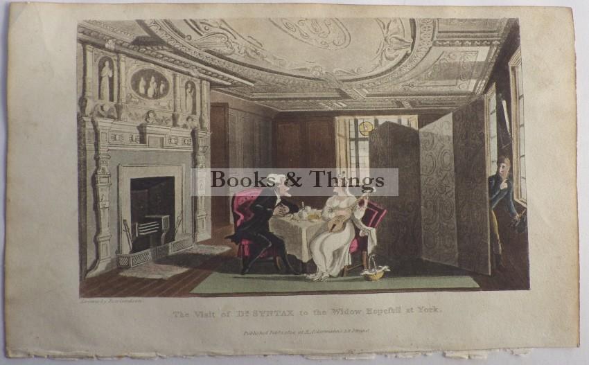 Thomas Rowlandson Dr Syntax lithograph20