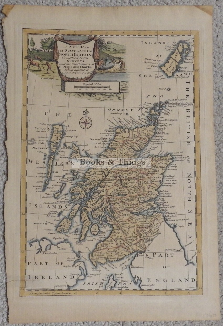 A new map of Scotland