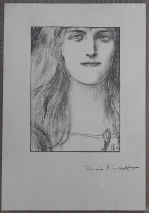 Fernand Khnopff lithograph