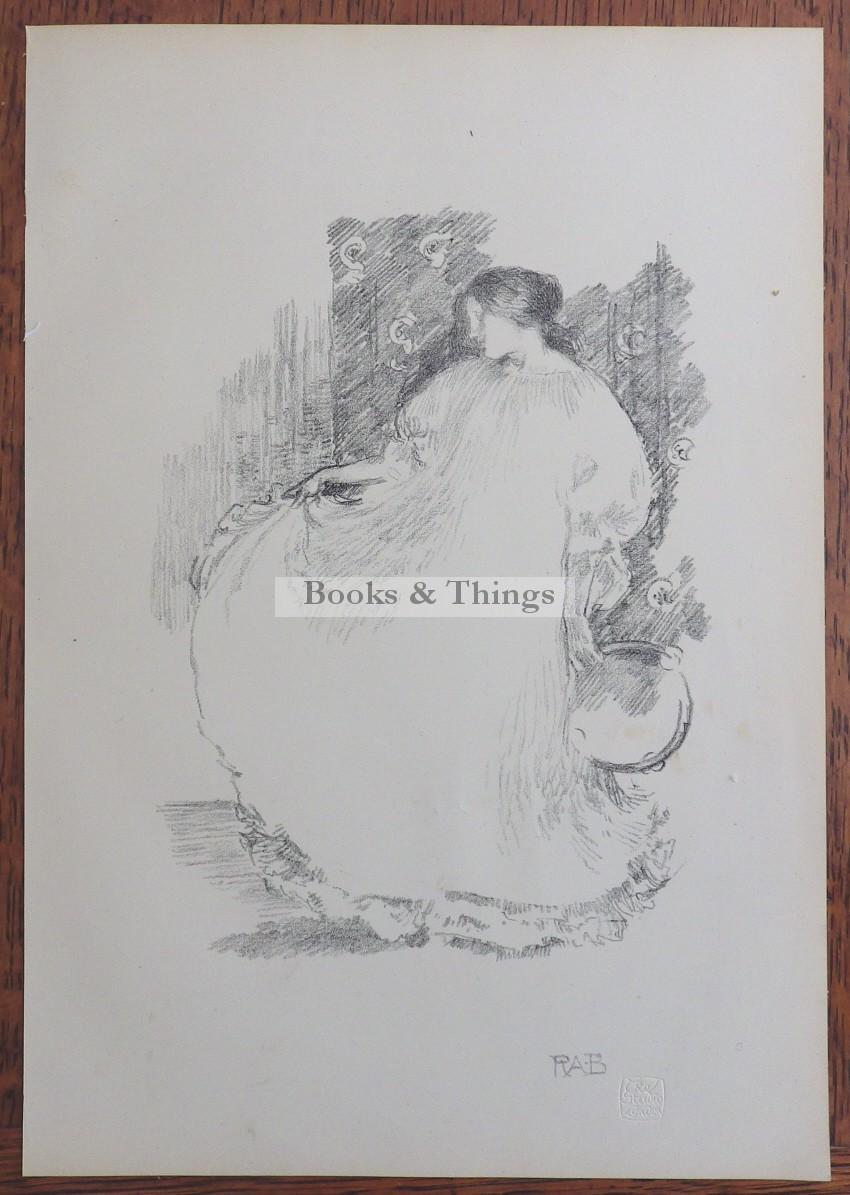 Robert Anning Bell lithograph