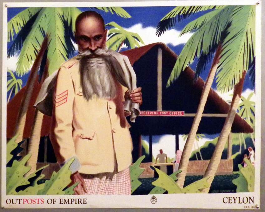 John Vickery Ceylon poster