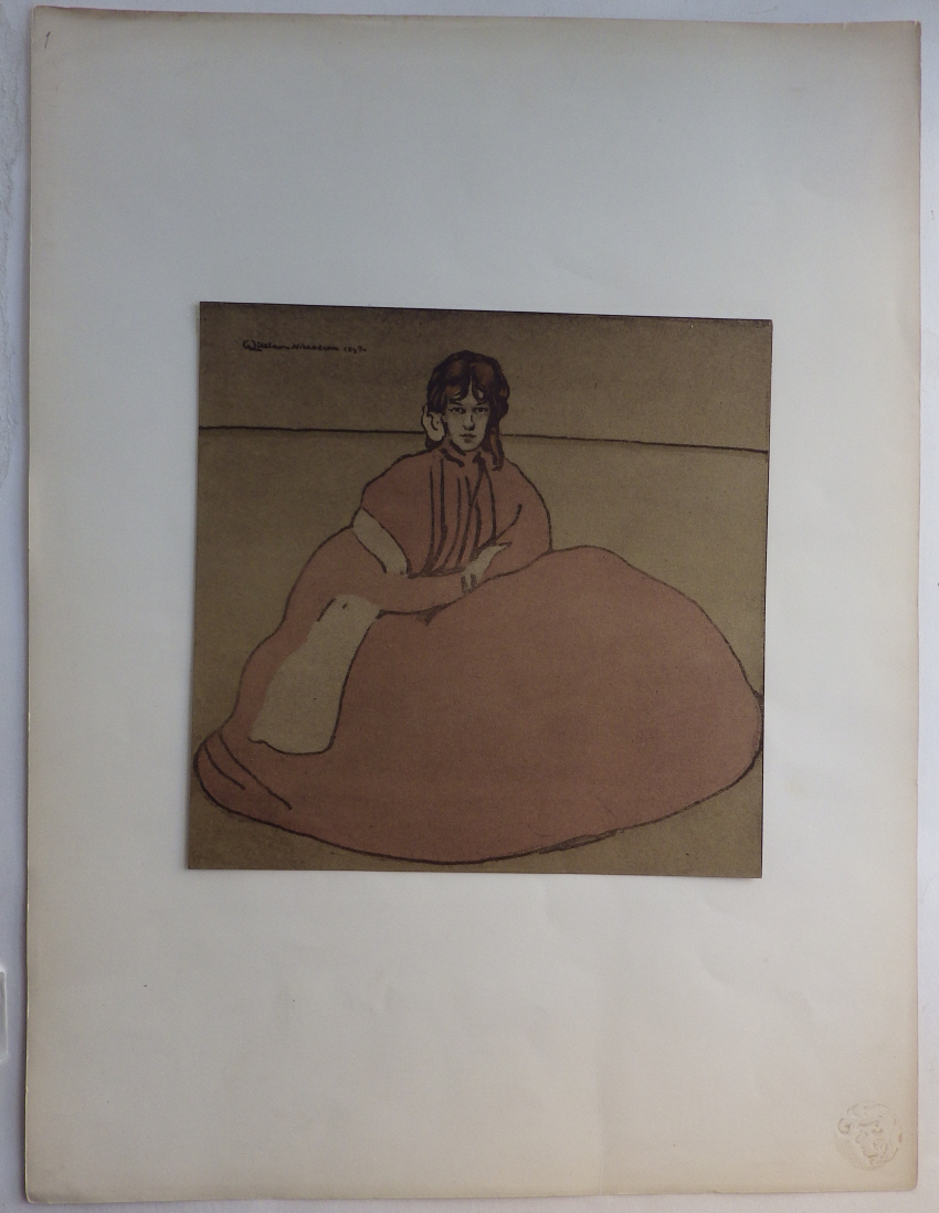 William Nicholson lithograph