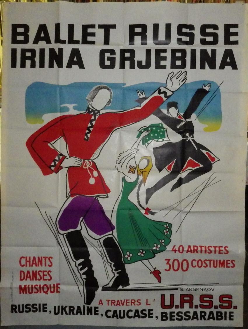 Georges (Yuri) Annenkov poster