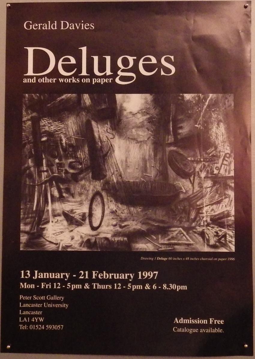 Gerald Davies poster