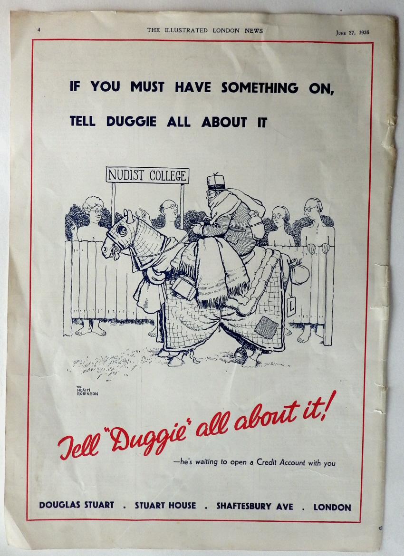 W. Heath Robinson advert