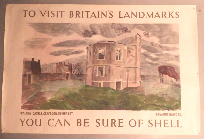 Edward Bawden Shell poster