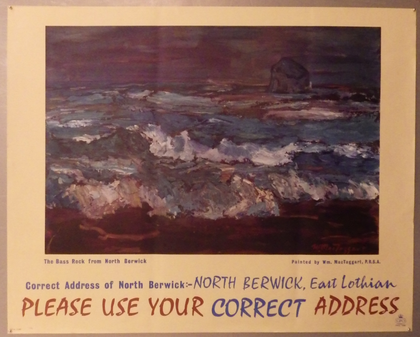 William MacTaggart poster