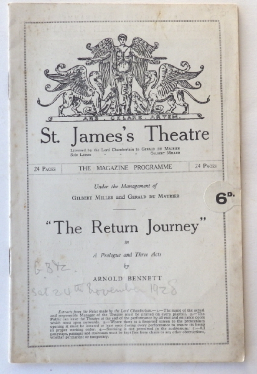 Arnold Bennett programme