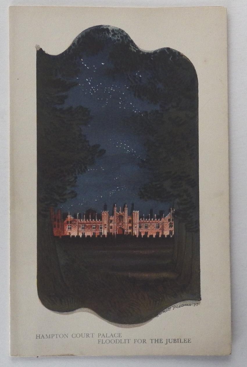 Barnett Freedman menu Hampton Court