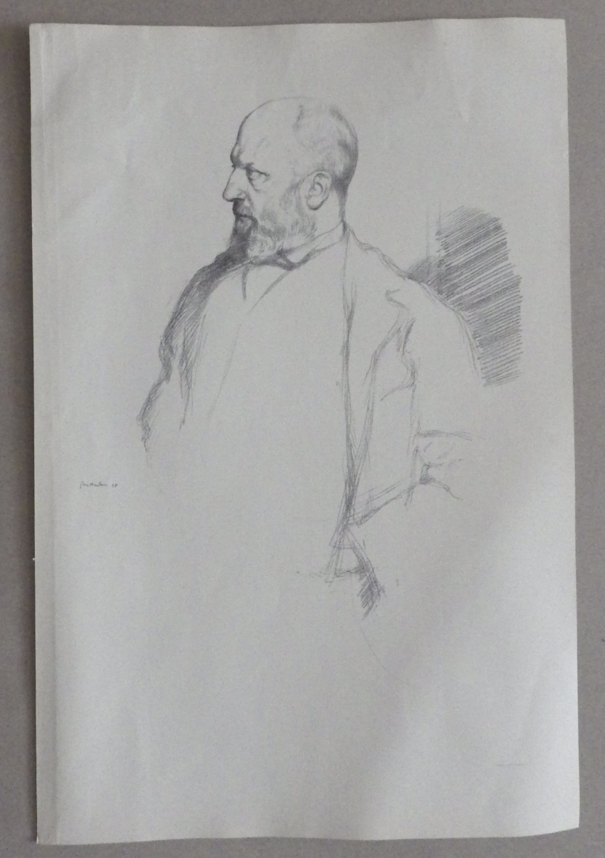 William Rothenstein lithograph Henry James2