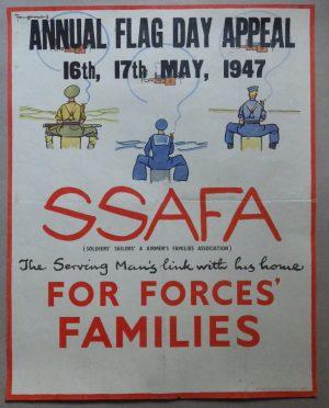 fougasse poster SSAFA