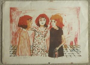Alistair Grant lithograph