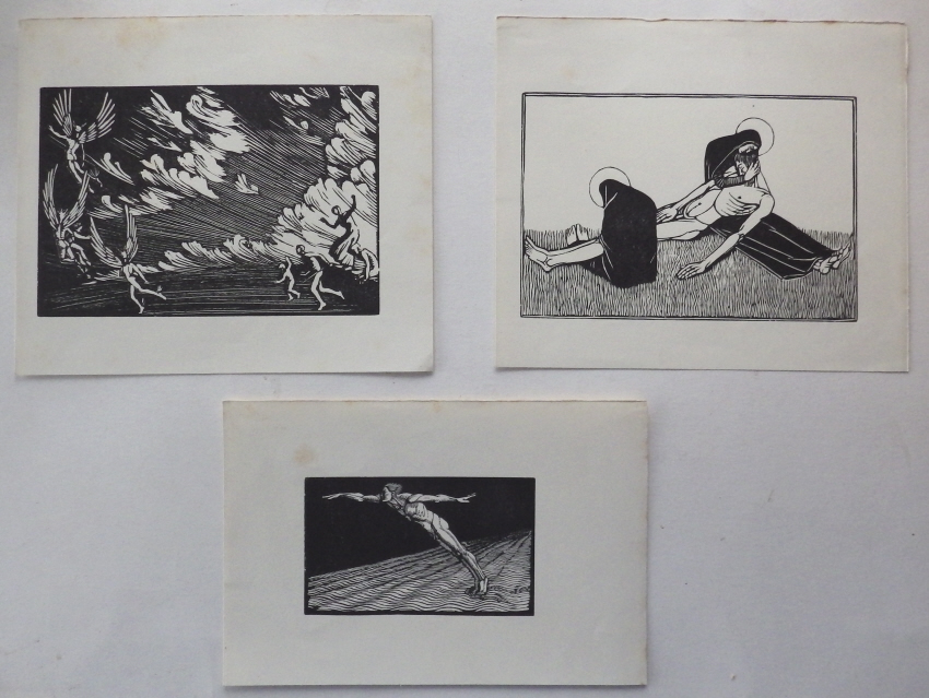 Gwen Raverat woodcuts