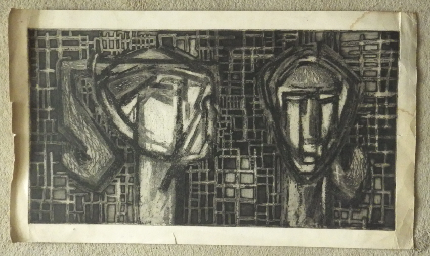 Ian Fraser etching