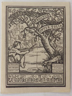 Elkin Mathews bookplate