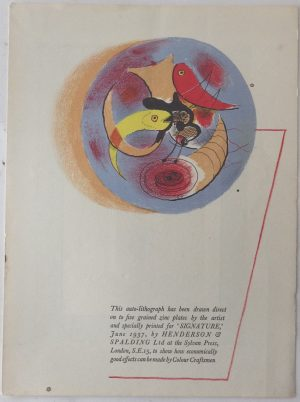 Graham Sutherland lithograph3