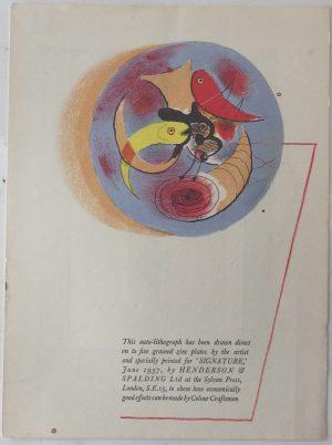 Graham Sutherland lithograph3
