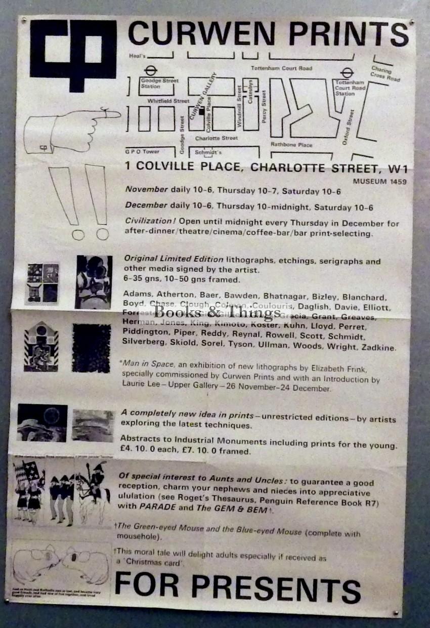 Curwen Studio poster