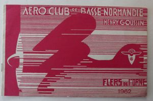 Aero Club brochure