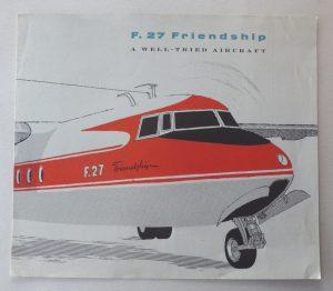 Fokker Friendship brochure