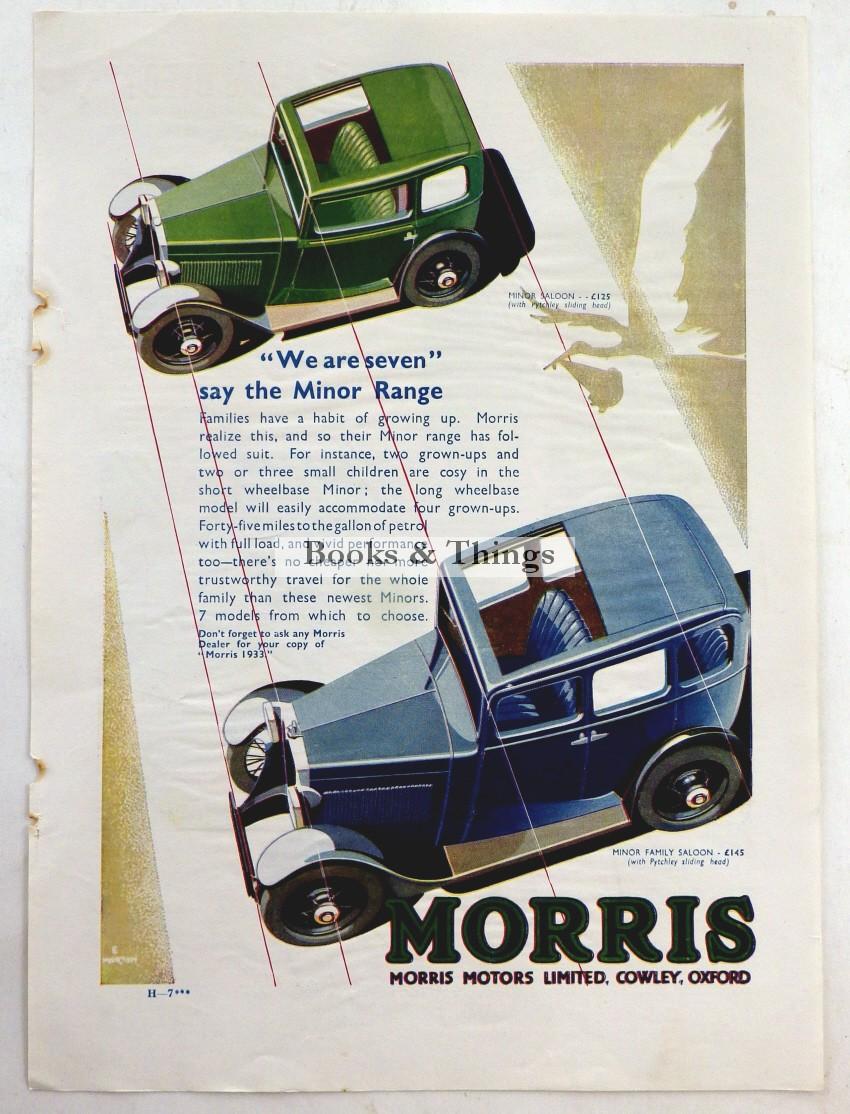 Morris advert