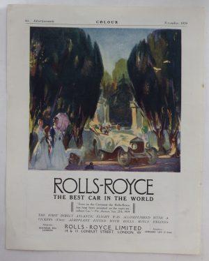 Rolls Royce advert
