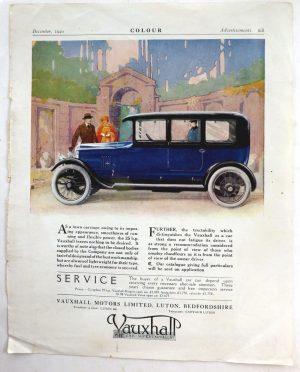 Vauxhall advert