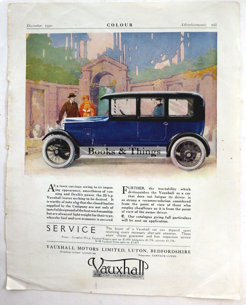 Vauxhall advert