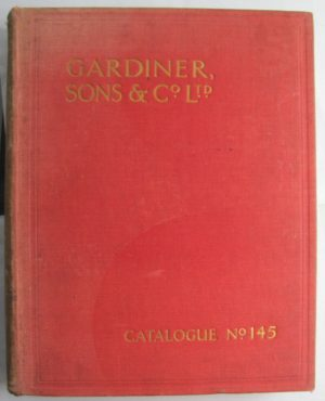 Gardiner trade catalogue