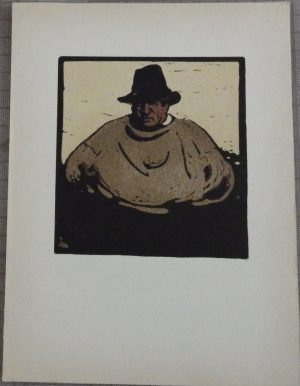 William Nicholson woodcut