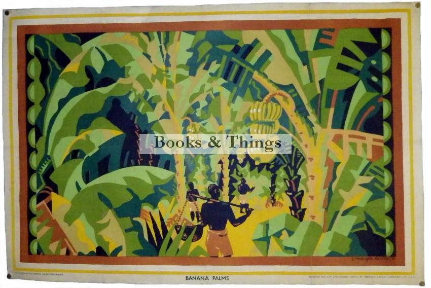 E. McKnight Kauffer Bananas poster