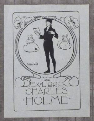 Joseph Simpson bookplate