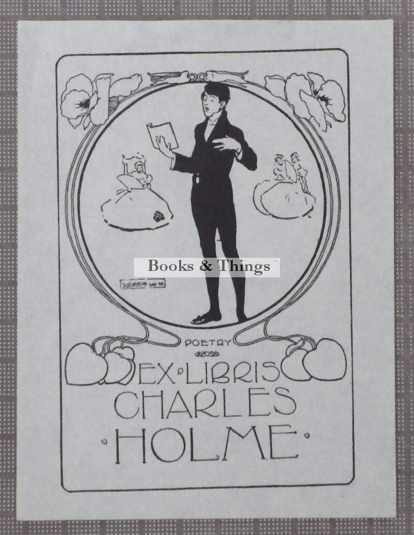 Joseph Simpson bookplate