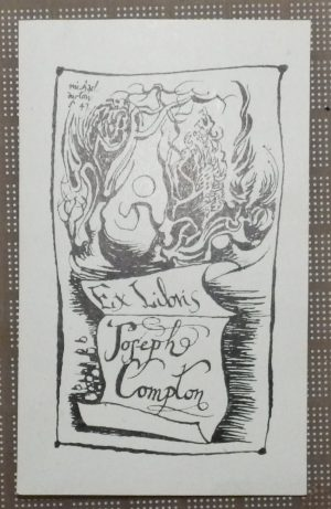 Michael Ayrton bookplate