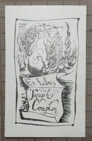 Michael Ayrton bookplate
