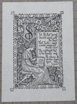 Walter Crane bookplate