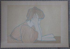 Alexandre Charpentier lithograph